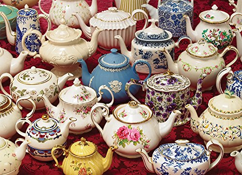 COBBLE HILL Teapots Jigsaw Puzzle (1000 Piece)