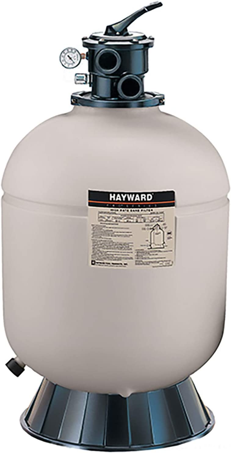 Hayward W3S180T ProSeries Above Ground Pool Sand Filter - (Best for 18′ Above Ground Pool)
