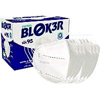 Mascara Proteção Respiratória Com Elástico Duplo Total Blocker - Pacote com 10 Unidades