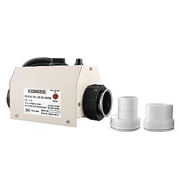 Moracle Termostato 220 V 3KW Termostato del Calentador de Agua 48\50 mm Diámetro para