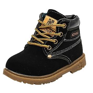 0b2d2e356aba5 Amazon.com: Toddler Baby Boys Girls Anti-slip Martin Shoes,for 1-6 ...