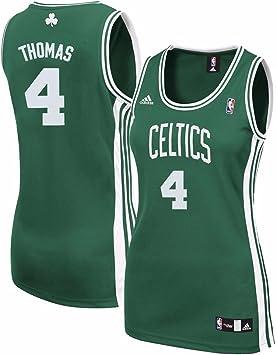 adidas Isaías Thomas NBA Boston Celtics Réplica de la Camiseta Verde de la Mujer