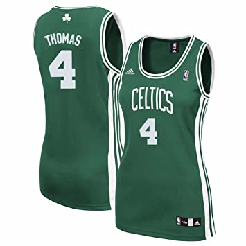 sale retailer b0a62 ee7b6 Amazon.com : adidas Isaiah Thomas Boston Celtics NBA Women's ...