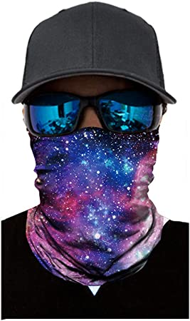 Neck Warmer Tube Multi Scarf Motorcycle Fishing Skiing Outdoor 10 Colors