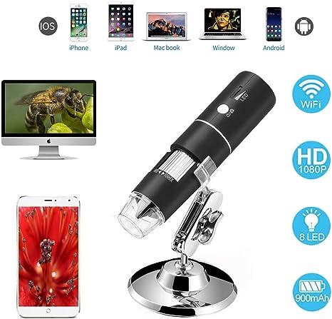Loadfckcer Microscopio Digital USB, Microscopio Electrónico ...