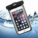 Waterproof Case, ENGIVE Waterproof Pouch Bag Case for iPhone 6s/6s Plus/6 Plus/6/5s, Samsung S7/S7 EDGE/S6/S6 EDGE/NOTE 5, HTC ONE M9/M8, SONY Z5/Z4, Google Nexus 6P/5X/ Smartphone Waterproof Protector for Boating/Hiking/Swimming/Diving/Skiing