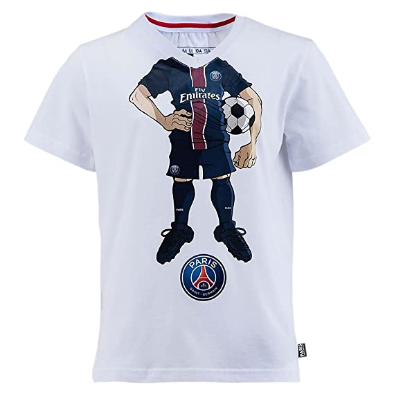 033ad248adf2f PSG - Official Paris Saint-Germain 'Comics' Kids Soccer T-Shirt ...