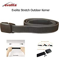 Evolite Stretch Outdoor Kemer Siyah