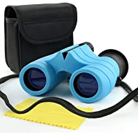 Scotamalone Binoculars for Kids with Compass 8x21 Children Toy Real Binocular Gifts for 3-12 Years Boys Girls High…