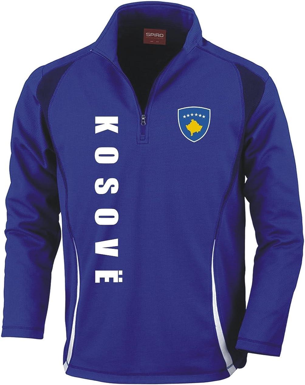 Blau Fussball Sport Aprom-Sports Kosovo Trainingstop