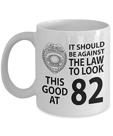 Amazon 82nd Birthday Gift Mug