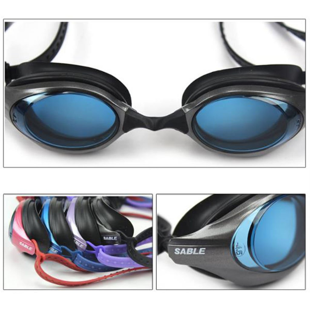 1159e32cc4e8 William 337 4 colors Swimming Goggles Plating lens Swimming Glasses with box  Spectacles Pool Swimming Glasses (Color   C)  Amazon.co.uk  Kitchen   Home