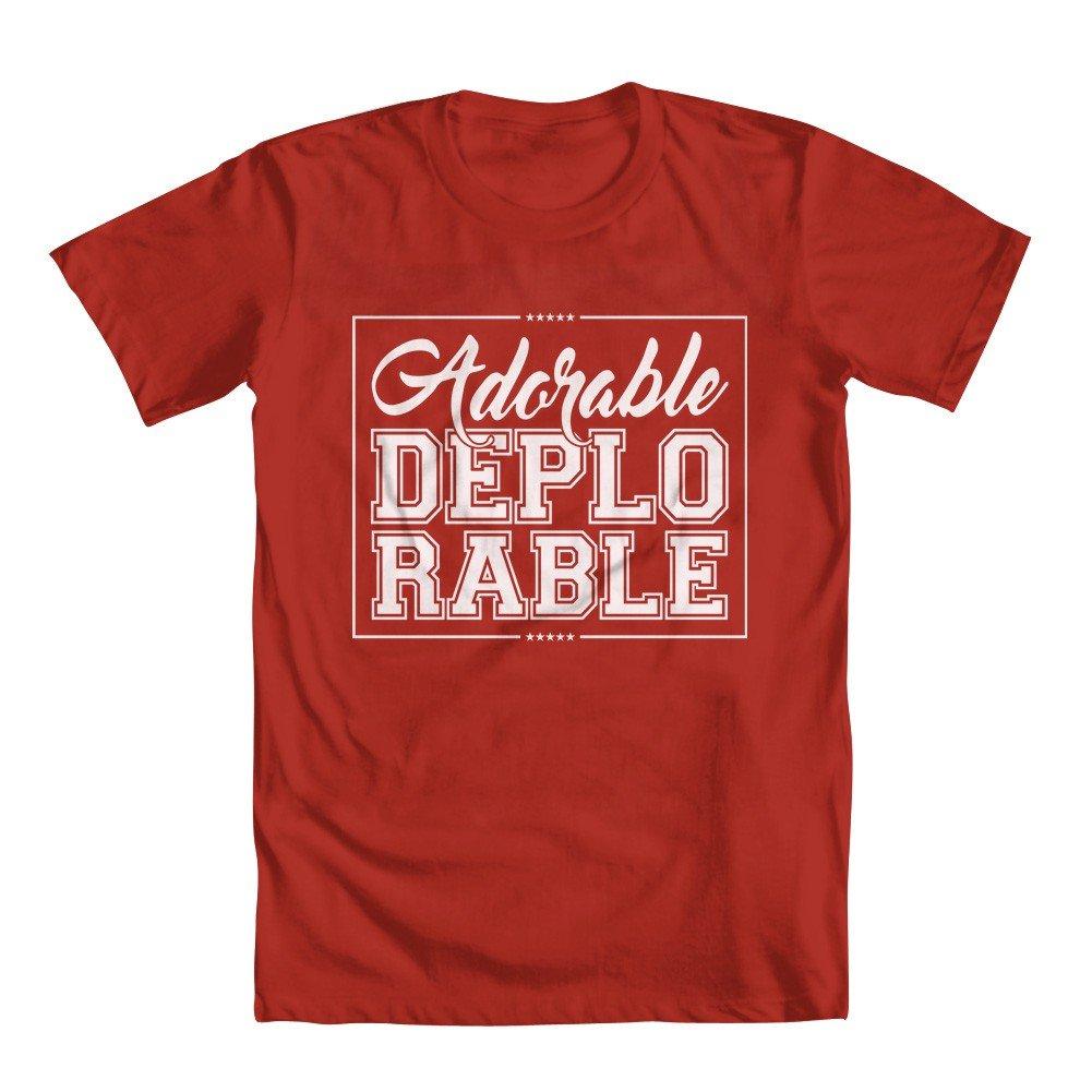 Adorable Deplorable Girls T Shirt 2805