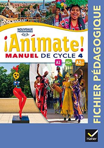 animate espagnol cycle 4 éd. 2016 - fichier pédagogique spanish edition