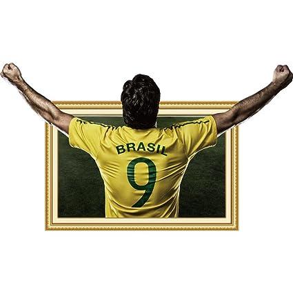 Amazon.com: LiPing World Cup 2018 Theme -3D DIY Wall Sticker 27.5 ...