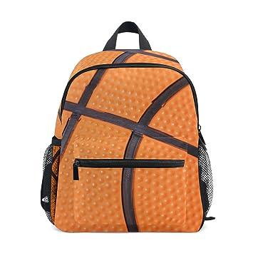 CPYang Mochila Deportiva para niños, diseño de balón de Baloncesto ...