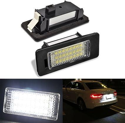 Original Audi A4 8E Plate Light Right