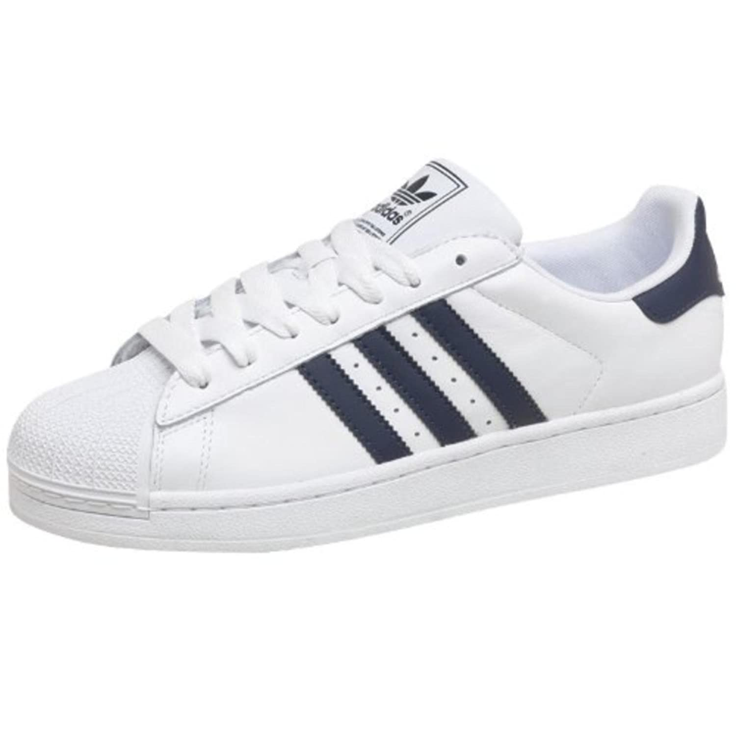 Adidas Originals Herren Superstar 2 Turnschuhe, weiß (Navy Guys Herren