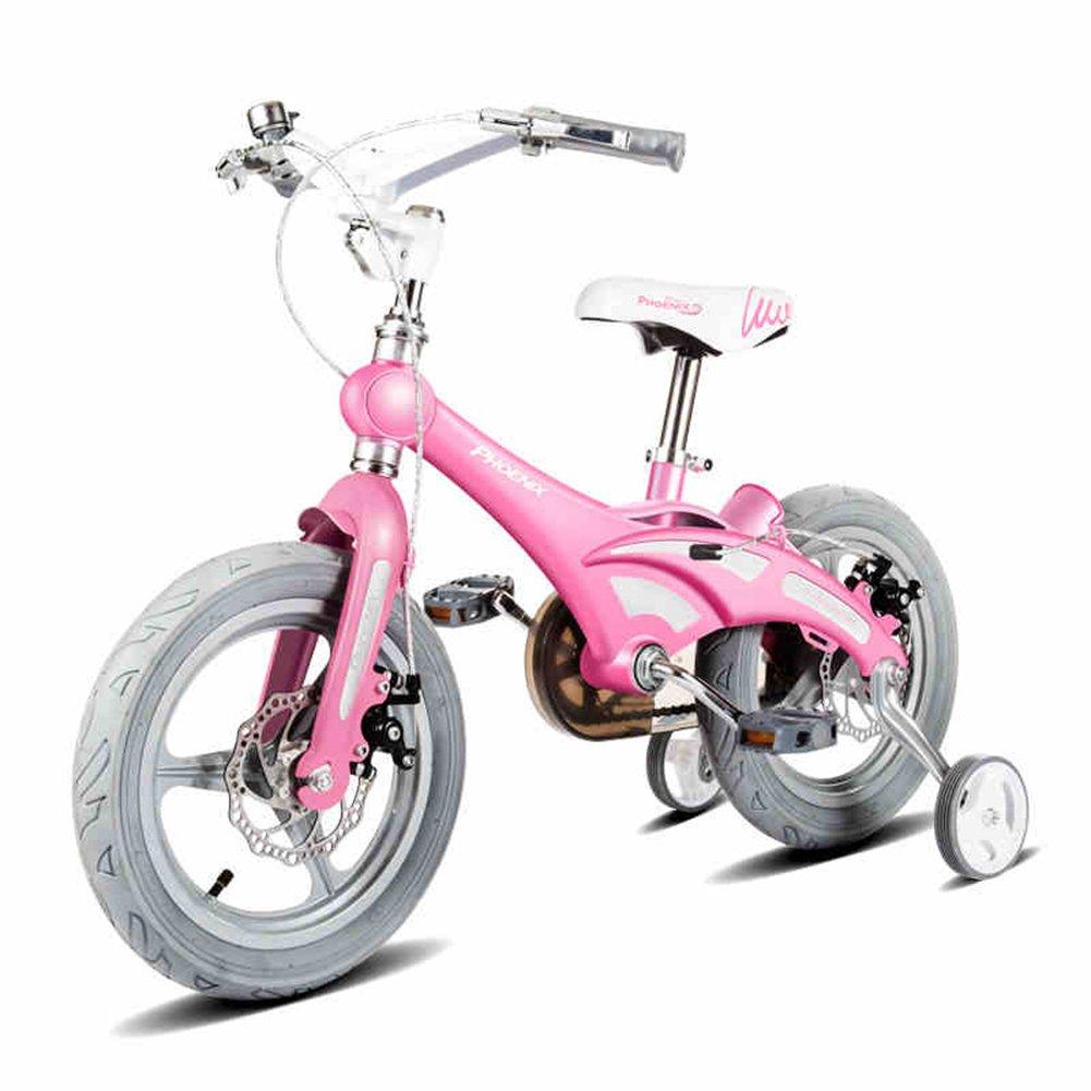 XQ TR-953 Rosado Bicicleta Para Niños Bicicleta Para Niños 3-13 Años De Edad Niña Pequeña Princesa Equitación La Seguridad Estable ( Tamaño : Length-93cm )