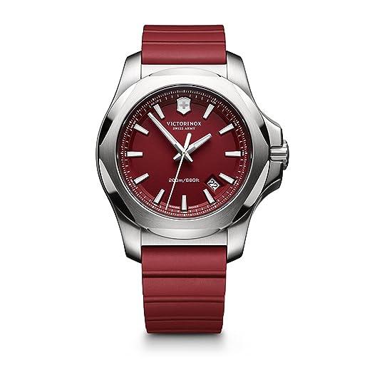 Victorinox I.N.O.X. Cuarzo - Reloj (Reloj de Pulsera, Masculino, Acero Inoxidable, Acero