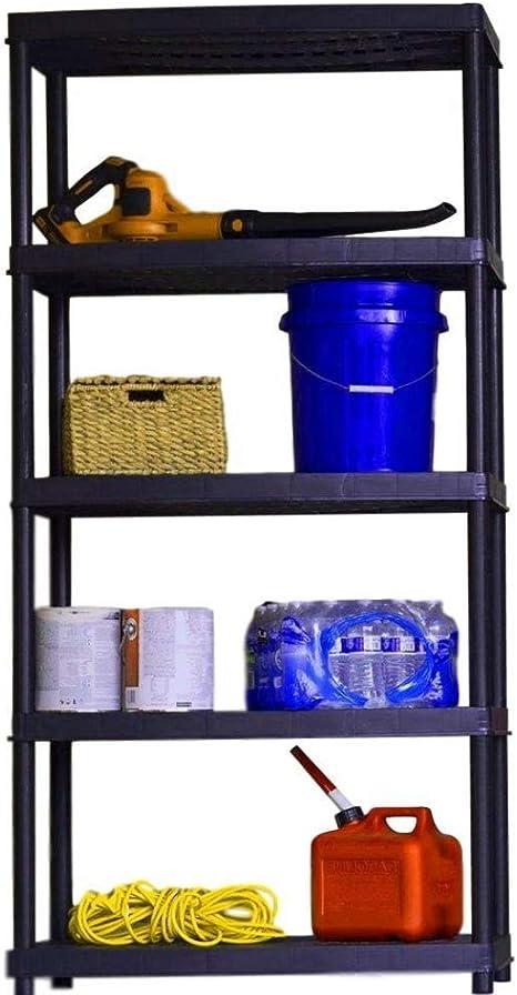 BS Estantería organizadora para garaje, estantería de resina ...