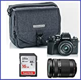 Olympus OM-D E-M10 Mark III (Mark 3) Mirrorless Digital Camera [Black] Body + M.Zuiko Digital ED 14-42mm f/3.5-5.6 EZ Lens (Black) + M.Zuiko Digital ED 40-150mm f/4.0-5.6 R Lens (Black)