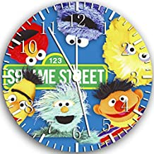 "Sesame Street Elmo Wall Clock 10"" Will Be Nice Gift and Room Wall Decor X08"