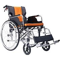 Polironeshop KEROS Faltbarer Rollstuhl aus Leichtem Aluminium