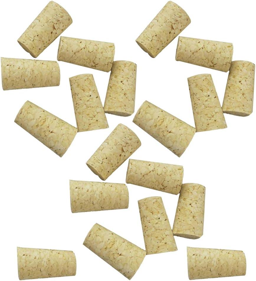 Baoblaze Bouchon en Li/ège Conique Bouteille De Vin Bouchons en Bois Lot de 20x Bouteille de vin