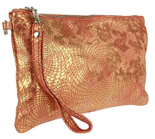 Mujer Red Handbags Bolso Girly Bandolera FqxzA70