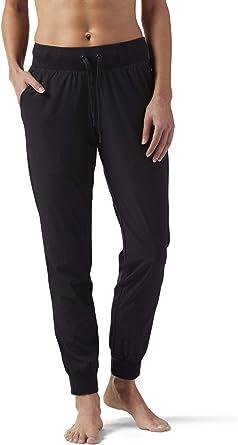 Reebok TS Woven Pantalón, Mujer, Negro (Black), 2XS: Amazon.es ...