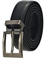 Faux Leather Belt with Nickel Buckle - Many Colors Available