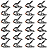 Neewer 24-pack Muslin Backdrop Spring Clamp 4.5 inches/11.4 centimeters Heavy Duty Clip for Photo Studio Photography Backgrounds, Canvas, Artwork or Home Applications
