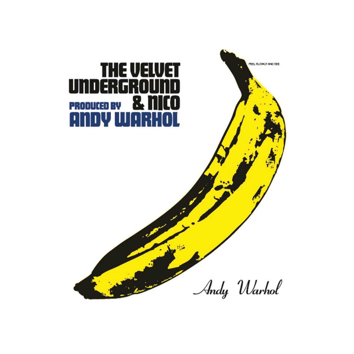 Velvet Underground Velvet Underground Nico Limited Edition Peelable Banana Cover Art Music