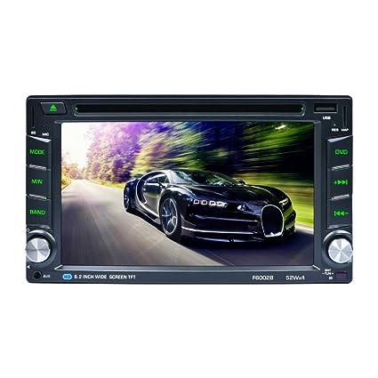 Reproductor DVD con navegación GPS para coches CATUO; 6,2 ...