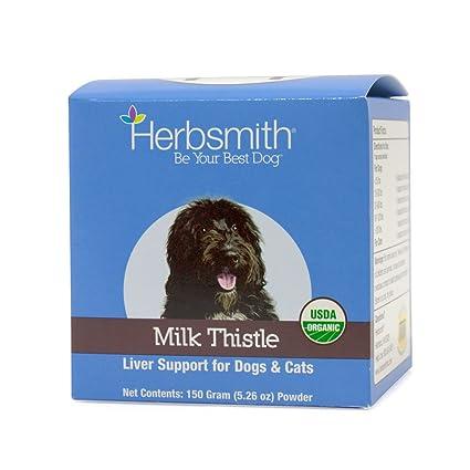 Herbsmith - Suplemento de Hilo de Leche para Perros y Gatos