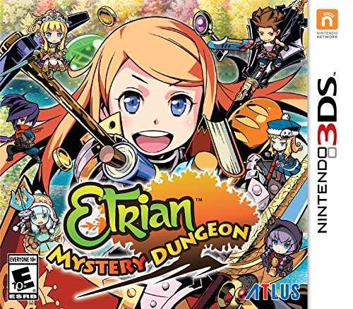 Etrian Mystery Dungeon - Nintendo - Castle Map Outlets Rock