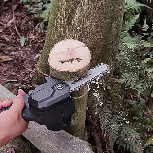 BIlinli 24V Portable Rechargeable Electric Pruning Saw Mini One-handed Lithium Battery Woodworking Electric Saw For Garden