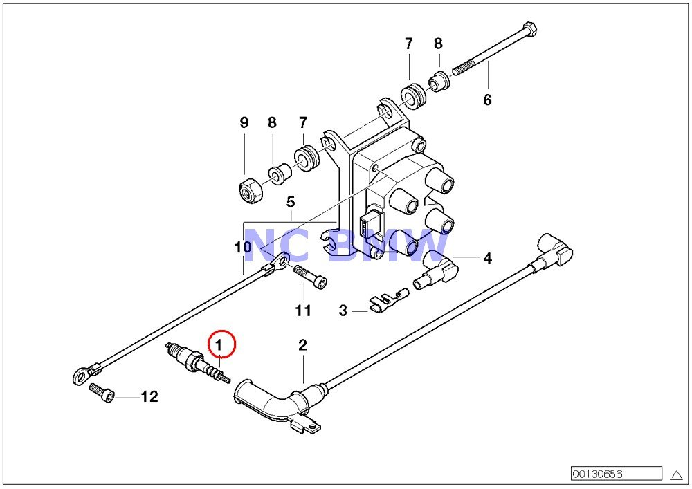 BMW Genuine Motorcycle Ignition System Spark Plug XR7LDC K1100LT K1100RS K1200LT K1200RS K1200GT K1200RS