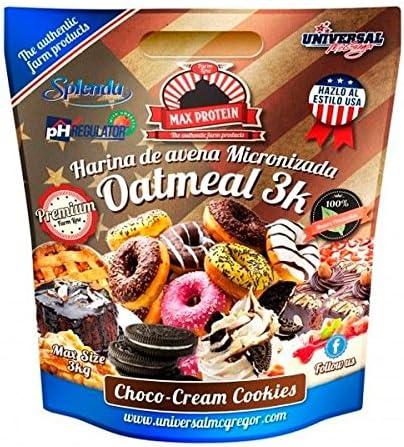 Max Protein Harina de Avena sabor Choco-Cream Cookies - 3 kg ...