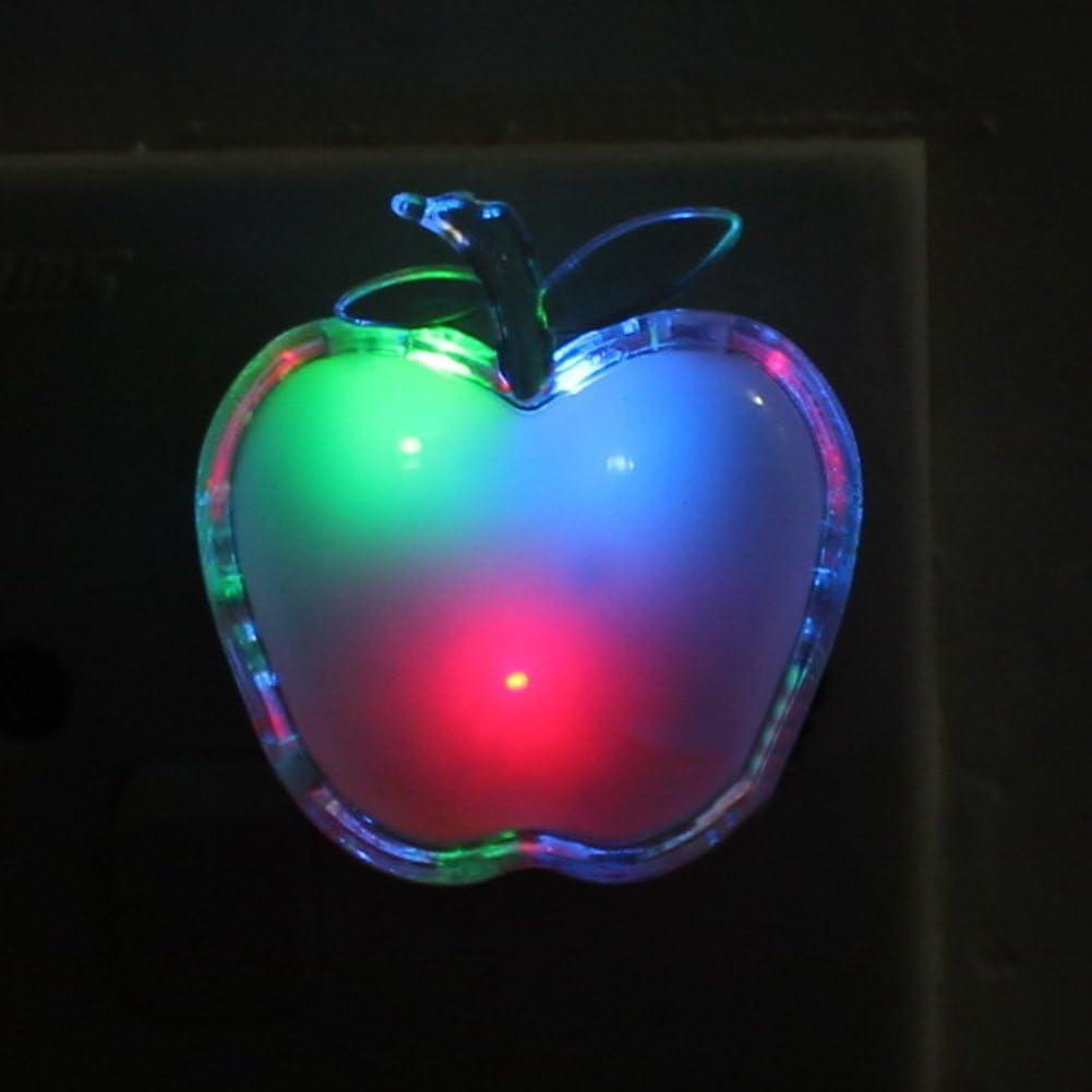 Wall Plug Cartoon LED Night Light lampe de chevet pour economiser lenergie