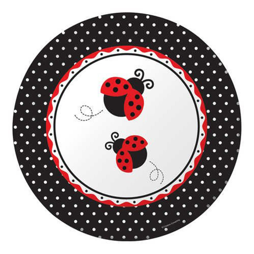 Amazon.com: Ladybug Fancy Party Bundle para 16 invitados ...