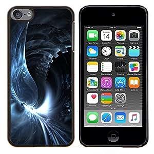 //PHONE CASE GIFT//Duro Caso PC protectora caso de la cubierta de moda para Apple iPod Touch 66th Touch6/Abstract Swirl/