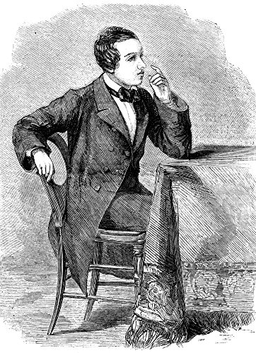 Paul Charles Morphy N(1837-1884) American Chess Player Wood Engraving 1858 Poster Print by (18 x 24)
