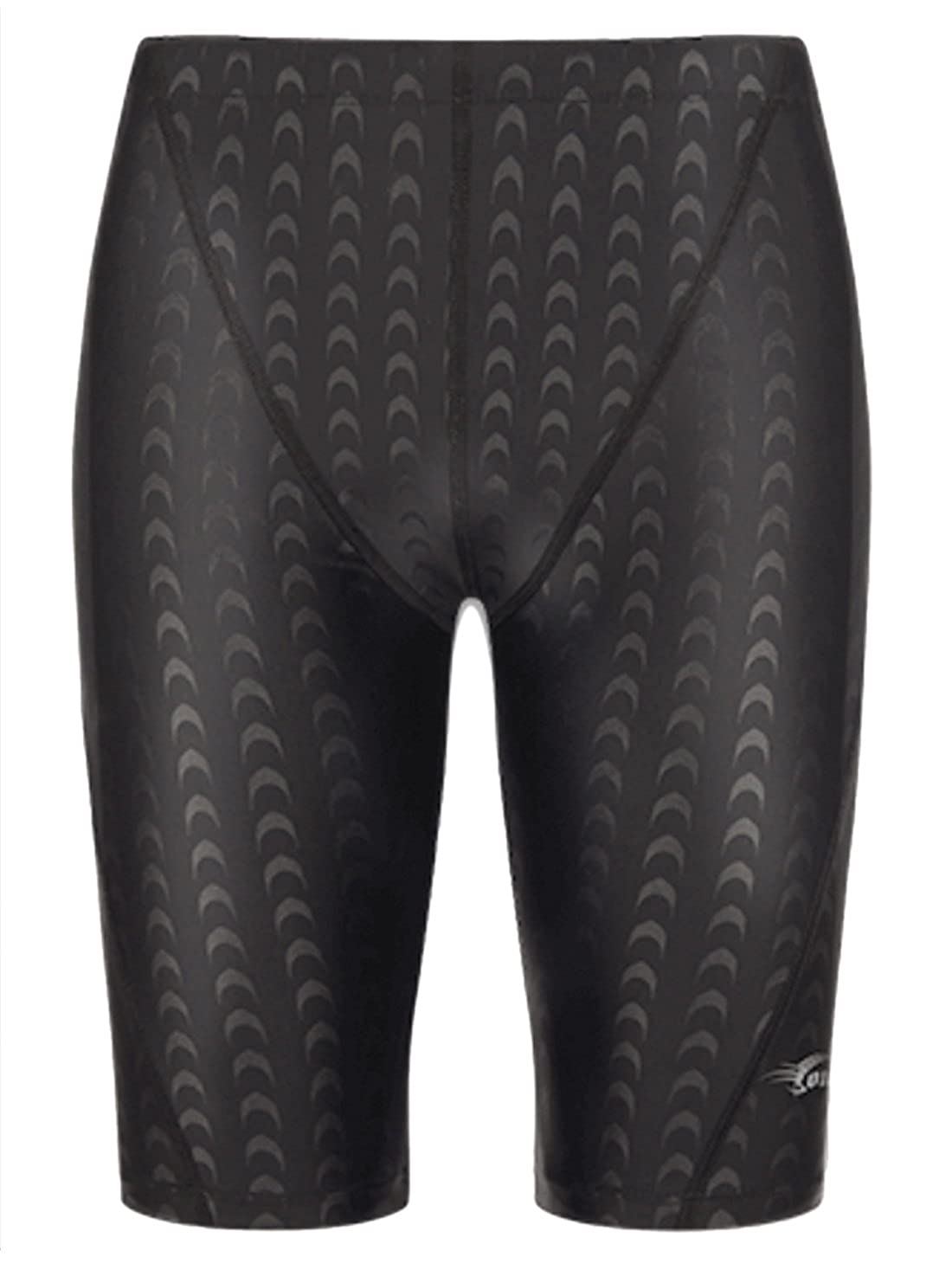 Panegy Mens Competition Swim Jammer Compression Rapid Short Solid Swimsuit