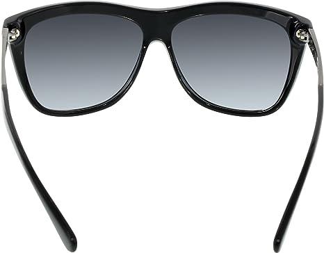 Michael Kors Damen Sonnenbrille MK6010 Benidorm, Schwarz (Black 300511), One size (Herstellergröße: 59)