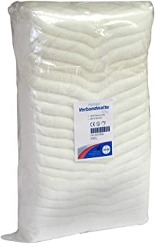 Botiquín de primeros de algodón 100% va Btl, 500 G de algodón: Amazon.es: Salud y cuidado personal
