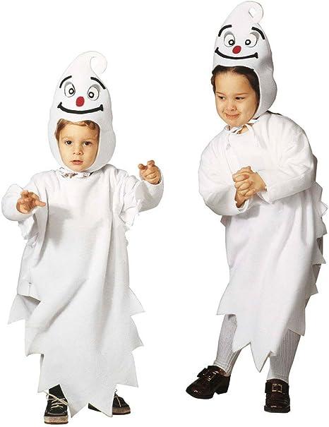 NET TOYS Precioso Disfraz de Fantasma Infantil Traje de Halloween ...