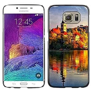 Be Good Phone Accessory // Dura Cáscara cubierta Protectora Caso Carcasa Funda de Protección para Samsung Galaxy S6 SM-G920 // Sunset Beautiful Nature 72