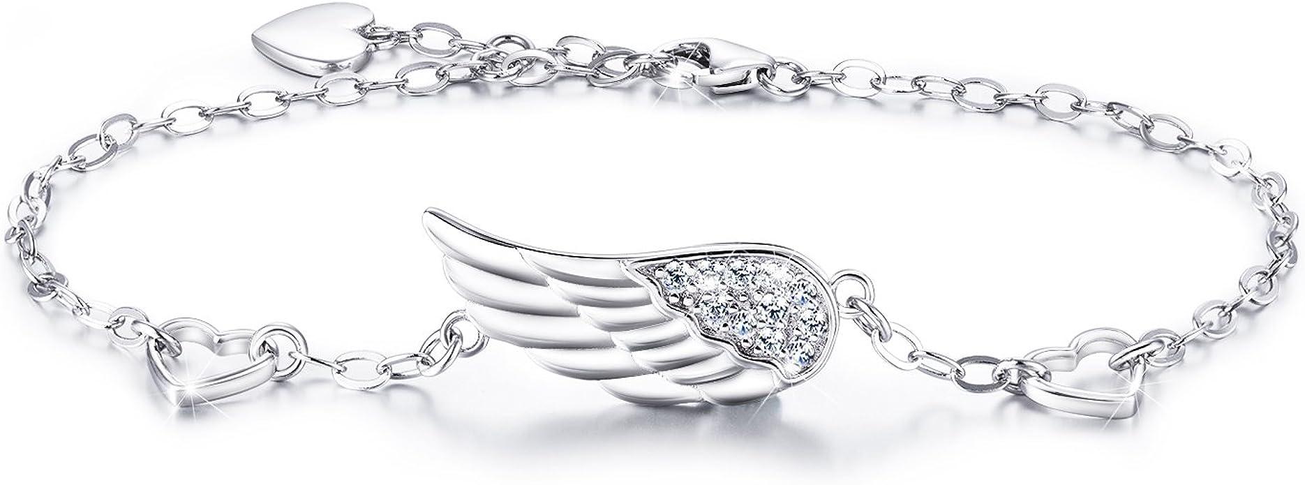 Fully Adjustable Inspirational Link Bracelet Wonderfully Made Silver